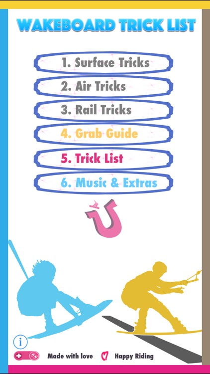 Wakeboard Trick List  -  Ultimate Wake Guide