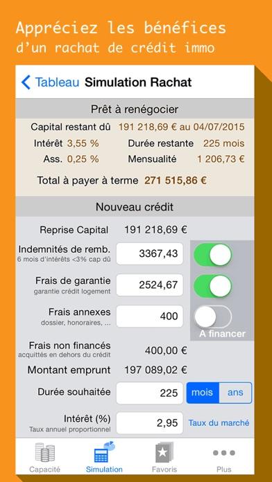 download Simule mon Prêt, calcul de crédit immo, auto conso apps 2