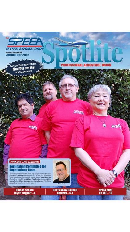 SPEEA Spotlite magazine