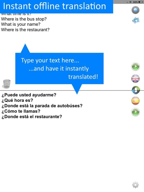 Translate Spanish Offline Pro Screenshots