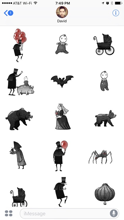 Grimm Stickers