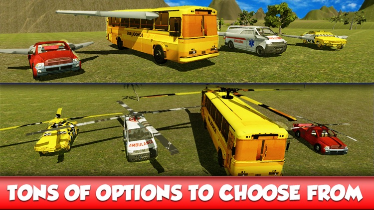 Flying Bus Stunts : Flight Simulator 2016 screenshot-3