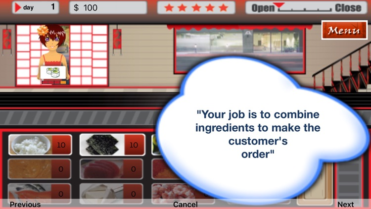 Suzie's Sushi House screenshot-2