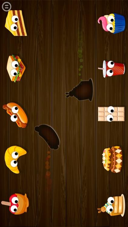 Kids Food Games: Toddlers, Boys Girls Puzzle Free screenshot-3