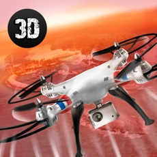 Activities of City Quadcopter Drone Flight 3D Full