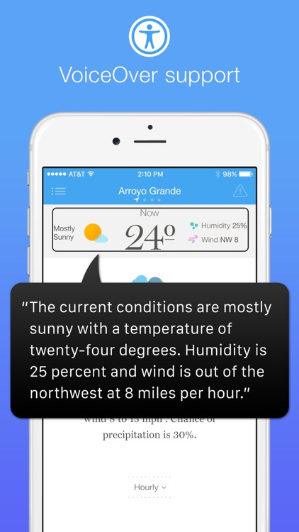 Weather Simple – Clear, concise forecasts screenshot-4