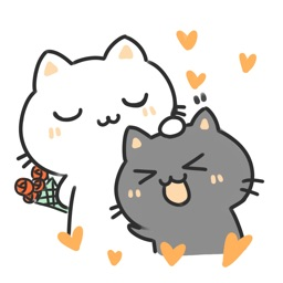 Life of Two Cats − NHH Stickers