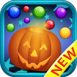Bubble Candy Shooting - Halloween babies game