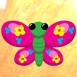 Lucky Butterfly Stickers