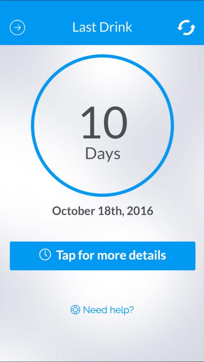 nomo - Sobriety Clocks Screenshot