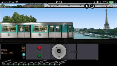 Paris Metro Simulator by Frederic Paulin (iOS, United States