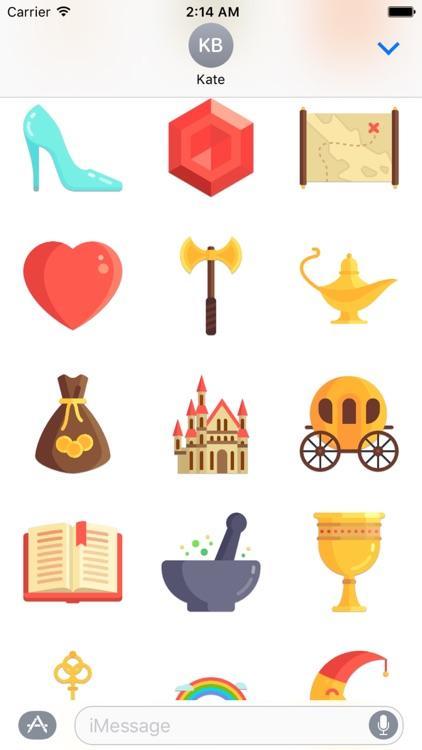 Fairytale Sticker Pack screenshot-3