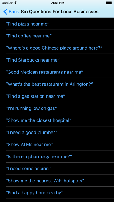 Command List for Siriのおすすめ画像2