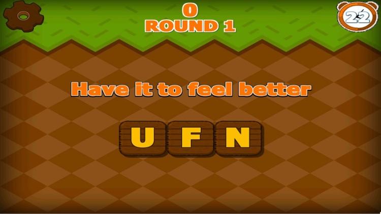 Juego de palabras - la búsqueda de rompecabezas sc screenshot-4