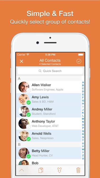 Cleaner - Remove Duplicate Contacts screenshot-3