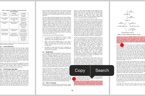 QuickSearch PDF Reader - náhled