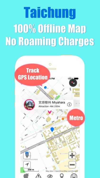 Taichung metro transit trip advisor gps map guide