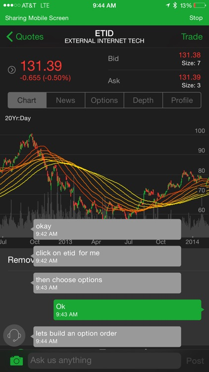 thinkorswim Mobile screenshot-0