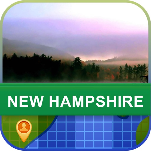 Offline New Hampshire, USA Map - World Offline Maps icon