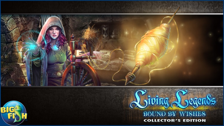 Living Legends: Bound by Wishes - A Hidden Object Mystery (Full) screenshot-4