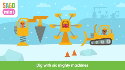 Sago Mini Holiday Trucks and Diggers Screenshot