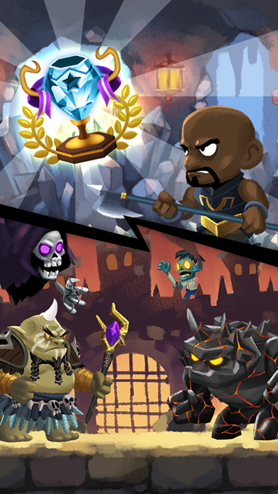 Combo Heroes: Knight vs. Monster Age Super League screenshot three