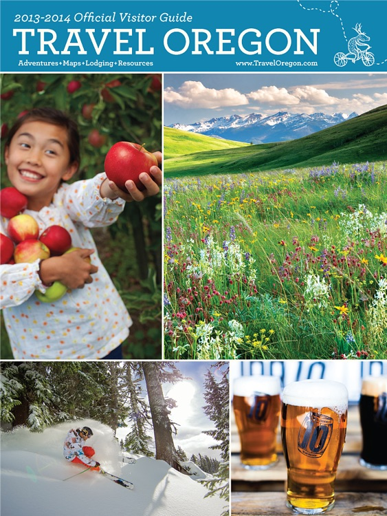 TRAVEL OREGON OFFICIAL VISITOR GUIDE screenshot-3