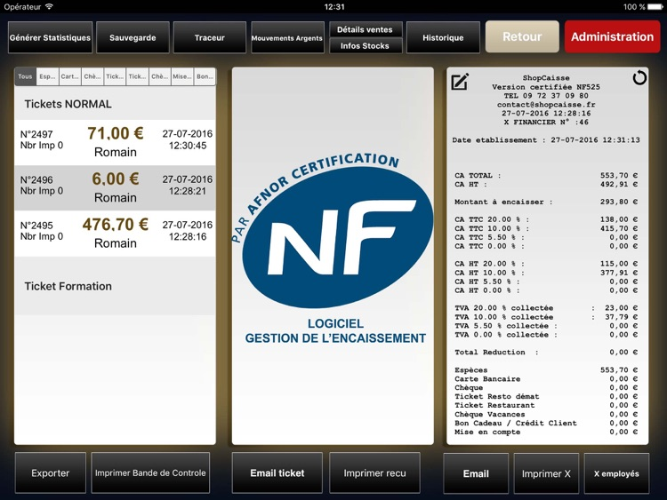ShopCaisse - Cash register screenshot-3