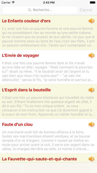 Contes de Grimm - 110 Audio Contes screenshot two