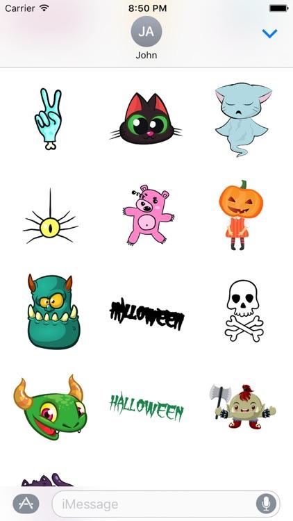 Halloween Cartoon Sticker screenshot-3