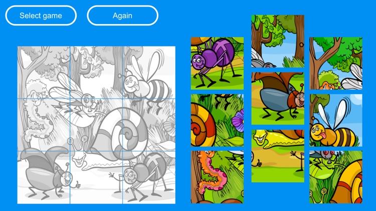 Educational mini games for kids