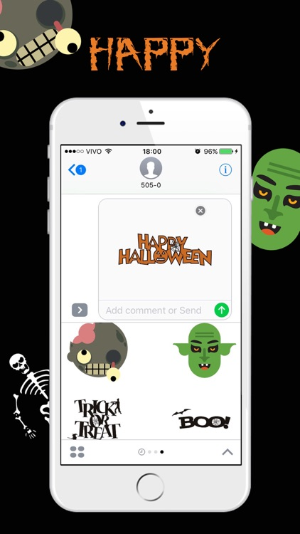 Halloween Stickers. For iMessage