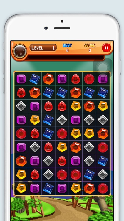 Diamond Match - 3 Free Fun Addictive Game screenshot-3