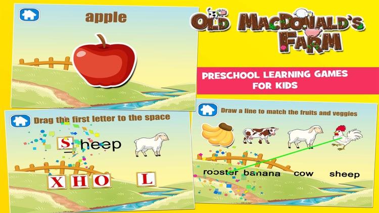 Old MacDonald had a Farm Games for Kids screenshot-4