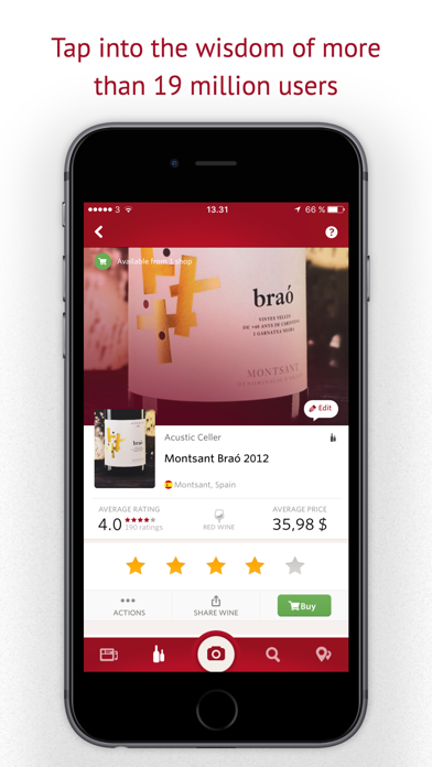 Screenshot for Vivino: Buy the Right Wine in Belgium App Store