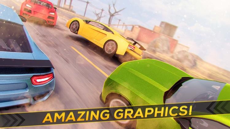 Real Roads | Crazy Speed Car Desert Racing Game