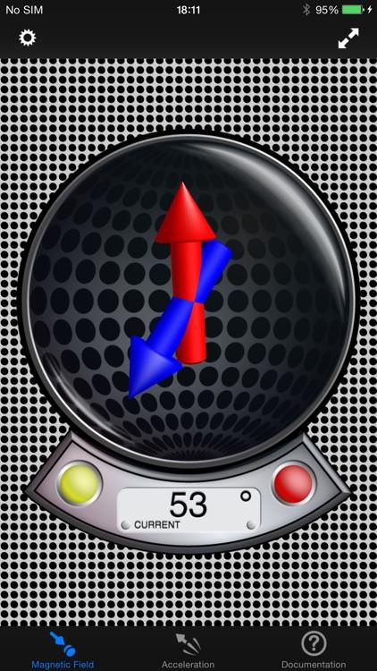 MagnetMeter - 3D Vector Magnetometer & Accelmeter