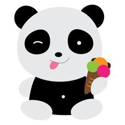 Cute Panda Sticker for iMessage #1