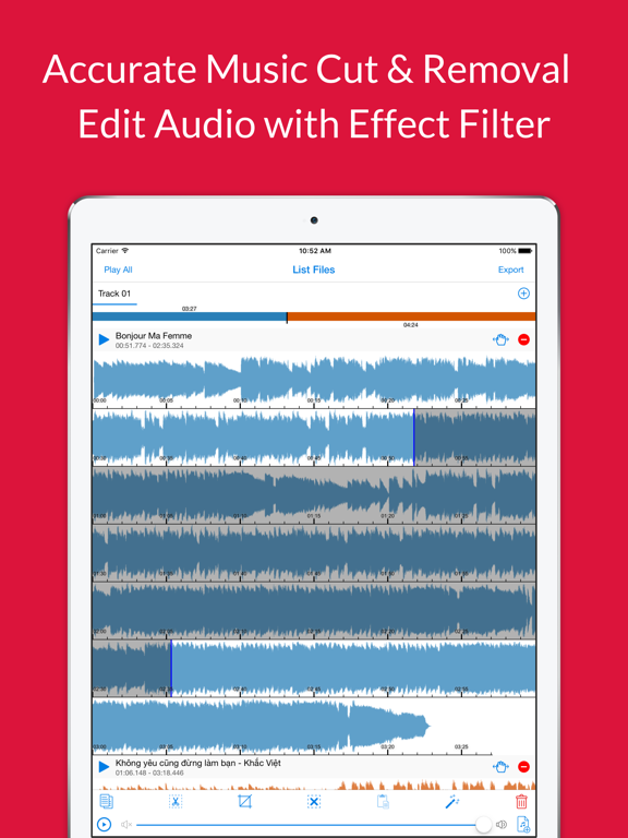 Audio Cutter Premium - Cut Music Effect & Audacity Voice Filter Recorder |  App Price Drops