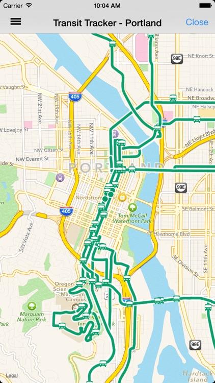 Transit Tracker - Portland (TriMet)
