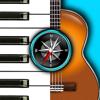 Chords Compass: piano, gitaar akkoorden & meer!