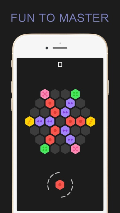 点击获取Hexagon Merged Cube - Six Sides Bricks Puzzle Game