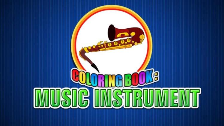 Coloring Book Music Instrument screenshot-4