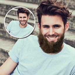 Man Mustache And Beard Style Changer
