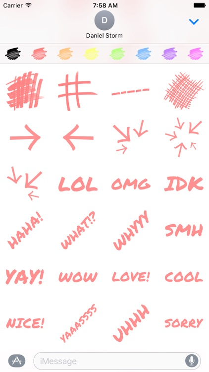 Permanent Marker Stickers