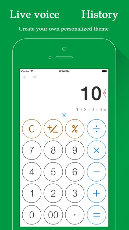 Voice Calculator HD - Personalized Calculator