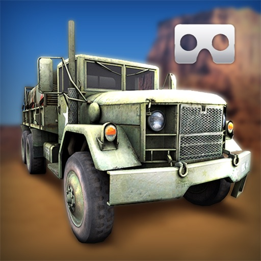 Vr Dangerous Army Truck : Cargo Sim-ulator Game icon