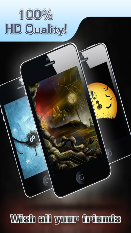 HD Halloween Wallpapers Pro for iPhone 5/iPad