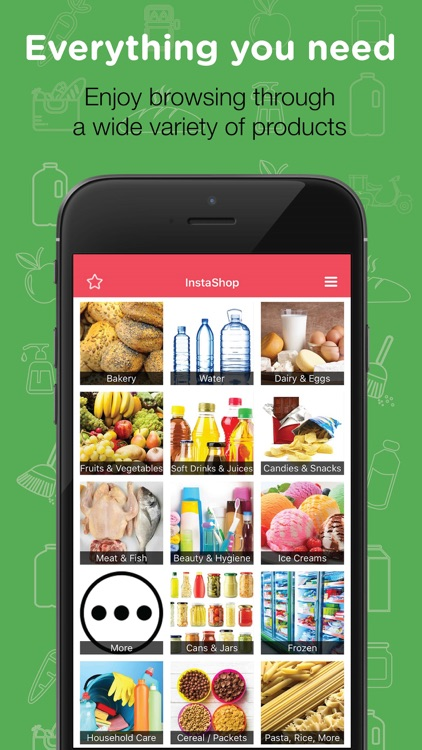 InstaShop - Grocery Delivery