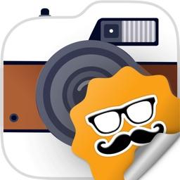 Crazy Camera Stickers